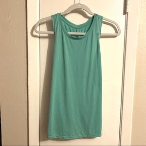***Old Navy Active Tie Back Shirt Light Teal S***